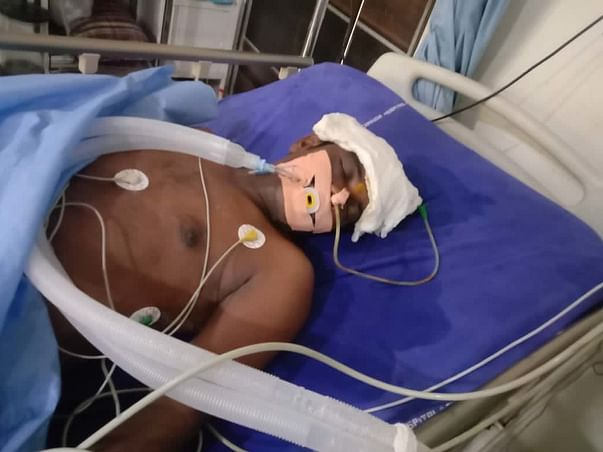 Support Gandla Raju Recover From Blood Clot In Brain For Surgery