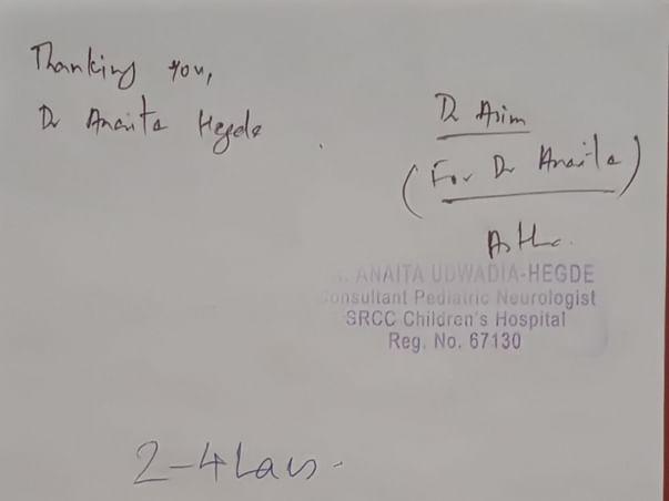 Help Anushka Receive Life-Saving Medical Treatment