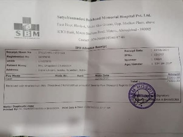 Help Dhapidevi Beat Cancer