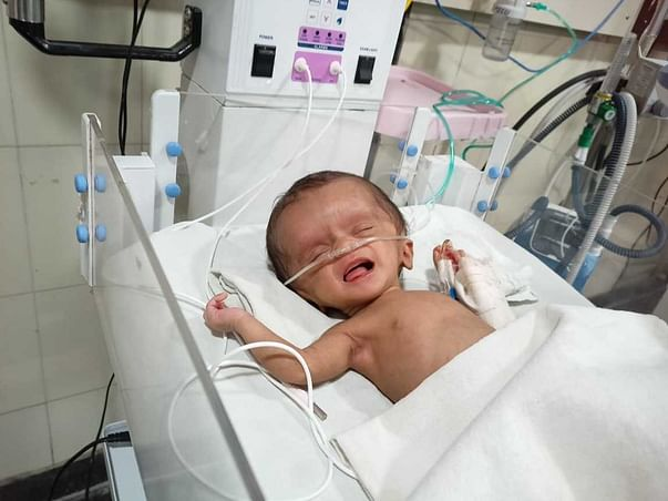 Please help me save my new born baby...