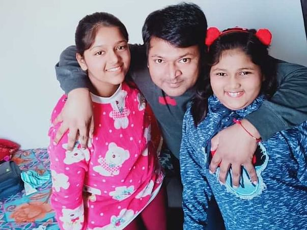 Help To Educate 2 Daughters Of Their Father Deceased Due To COVID !!