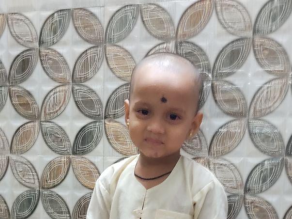 Support 3Yrs/O Ayush Abhay Adivarekar Recover From Pneumonia