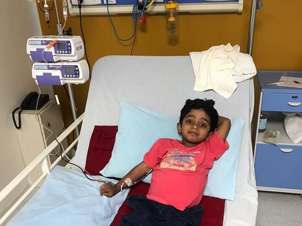 Support Gunav To Recover From Blood Cancer