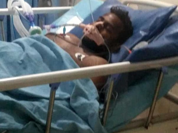 Help Dasari Rajesh To Recover From Accidental Injuries.