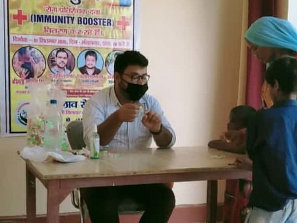 Help people in needy through our free health camp