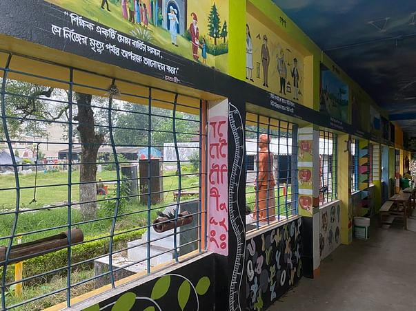 Help build a smart class in a West Bengal village