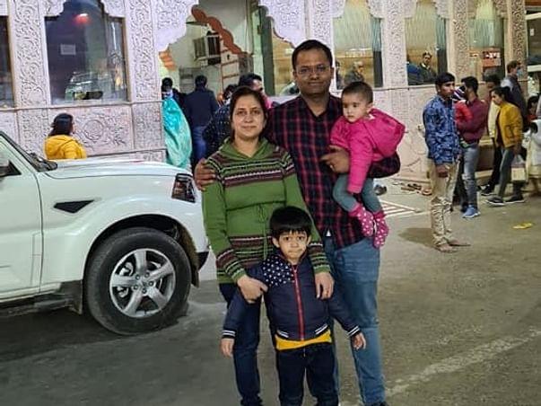 Support Shubham Aggarwal's Family & Children