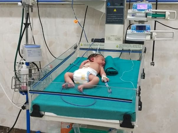 Support Baby Of Shivani