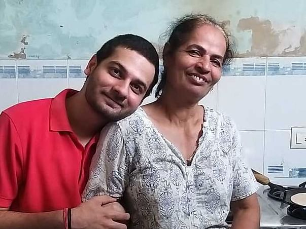 HELP VIVEK DO HIS MASTERS, TO SUPPORT HIS MOTHER.
