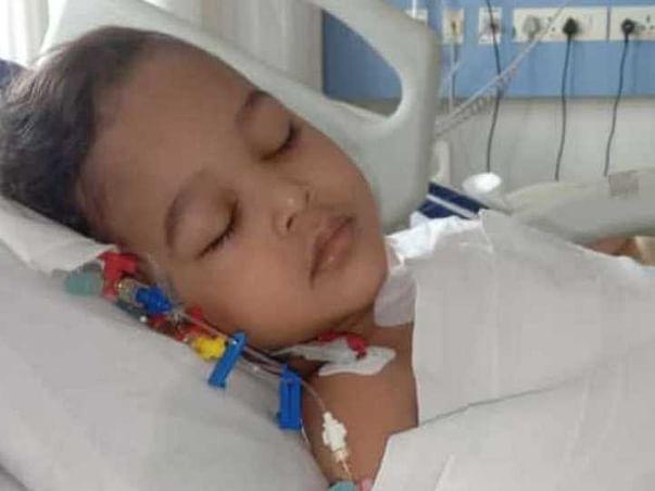 Help Shreyansh For Open Heart Surgery