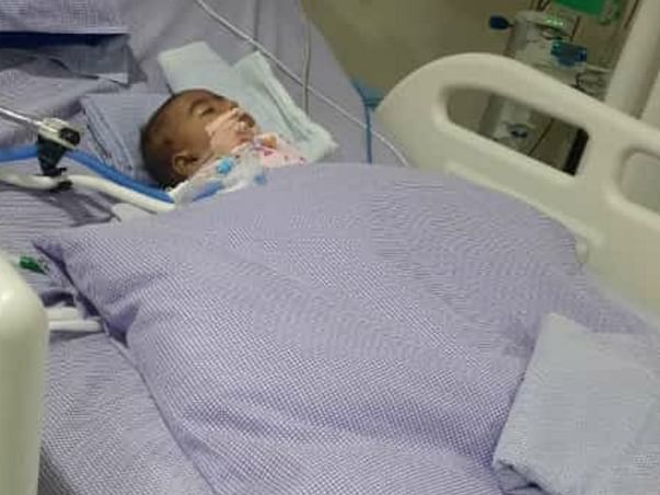 Please Help 7-month-old Baby Recover From Throat Infection