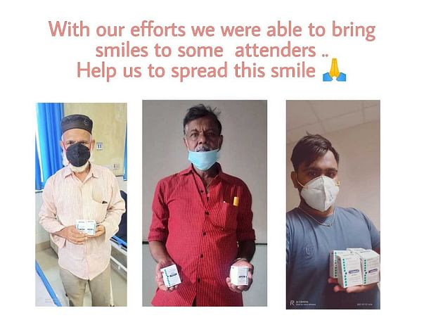 Help Us Provide Injections To Black Fungus Patients