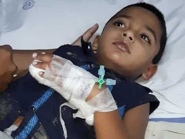 Help Joshiith 5 Years Old To Fight Epilepsy