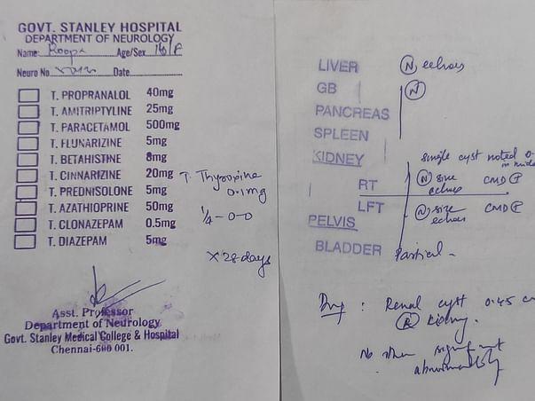 Help Rupa Recover Epilepsy, Thyroid