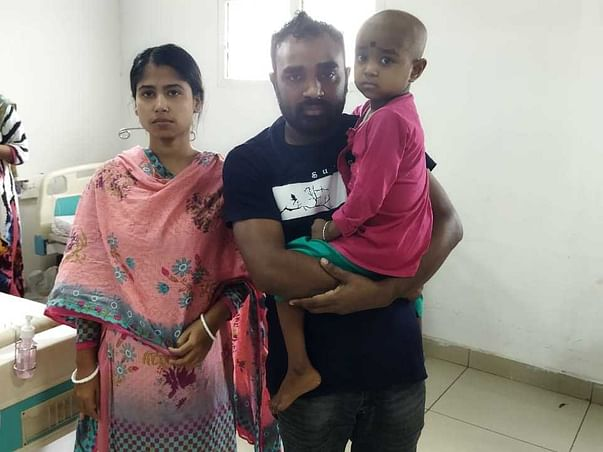Cancer Has Scarred Little Rinti's Childhood, Her Parents Beg For Help