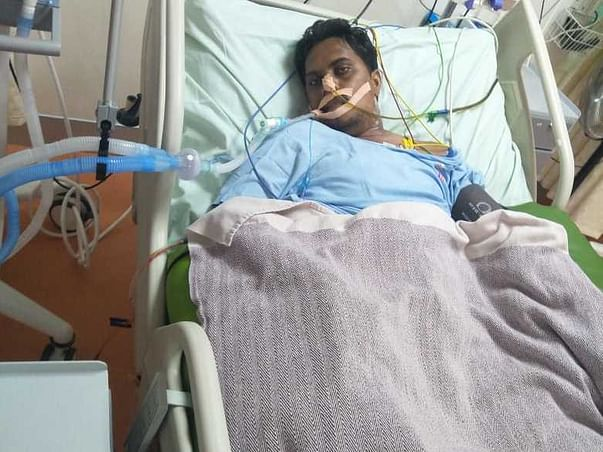 Help 37 Yrs Old Hari Recover From Severe Accident