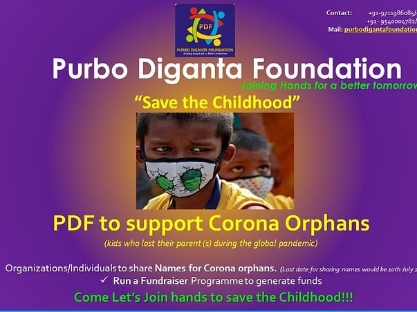 PDF Joining Hands to Support Corona Orphans