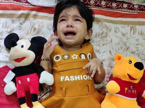 2 Years Old Shravya Needs Your Help Fight SMA Type 2