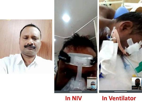 Support Mrutyunjaya Patra Recover From Covid Positive