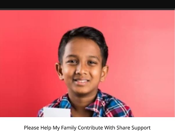 Needs For Help Please Contribute With Share Support Reach My Goal