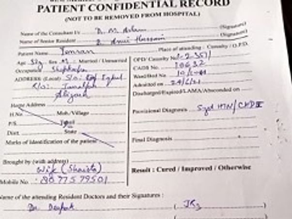 Help Mohd Imran fight Kidney Failure.