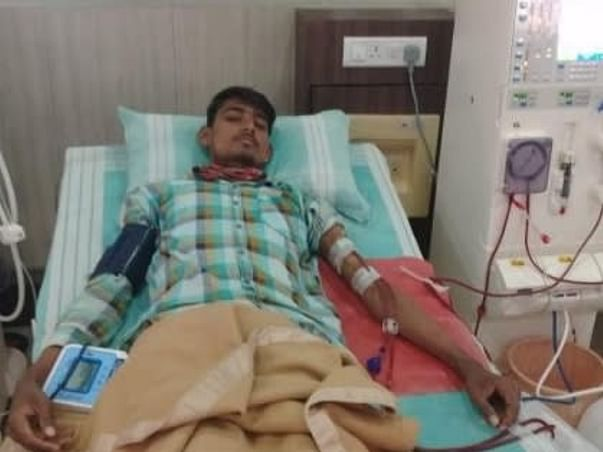 Support Srinivas R Recover From Kidney Failure