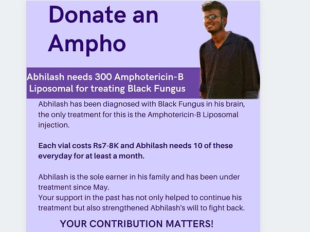 Help Abhilash recover from a Brain Stroke