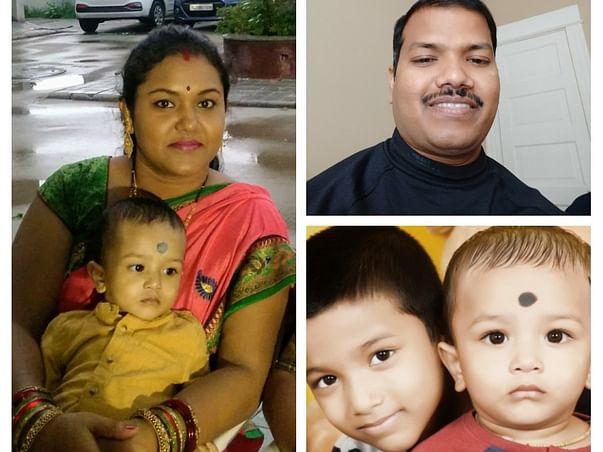 Supporting Aruna's family  (Late Dr. Aruna Kumar Malik)
