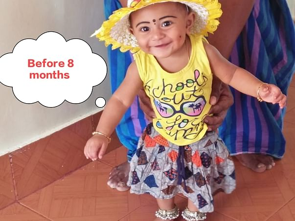 This 2 year old needs your urgent support in fighting Extremely rare disorder of the immune system - Hemophagocytic lymphohistiocytosis syndrome