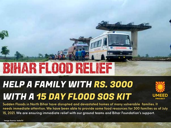 BIHAR FLOOD RELIEF: 55 Lac People need Immediate Help in North Bihar