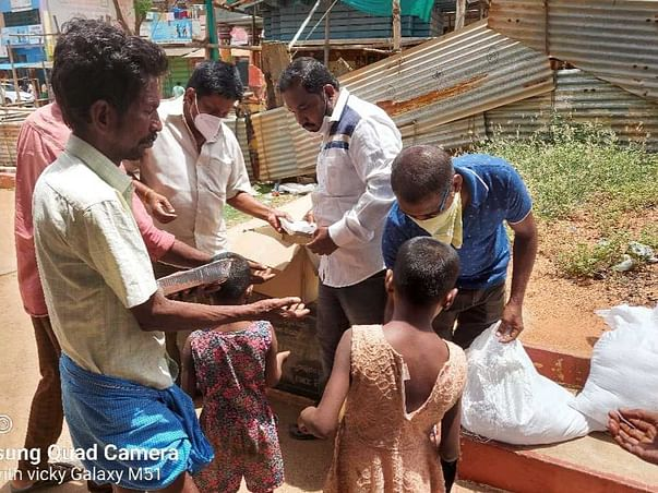 Food Distribution For Poor