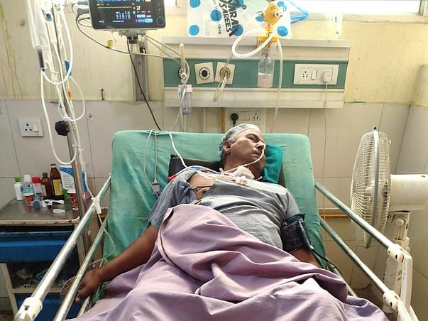 Help My Father for Brain Hemorrhage treatment.