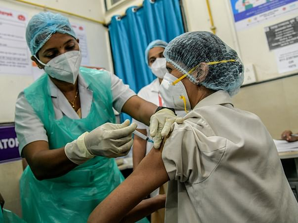 Covid Vaccine Camp for Families of Mumbai Police and Tribal Villagers.
