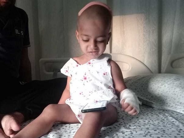 Help  2 years old Baby VivanTej Recover From Ependymoma(Brain Tumor)