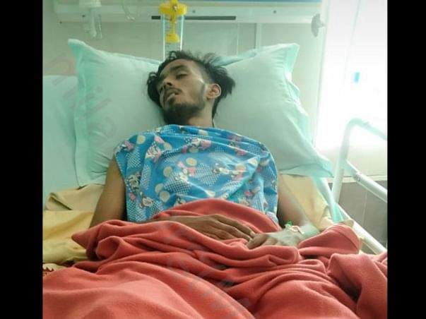 Help Mantu Tripathy Recover From Accidental Injuries