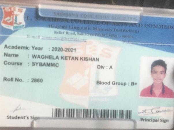 Help Ketan fund final year of graduation