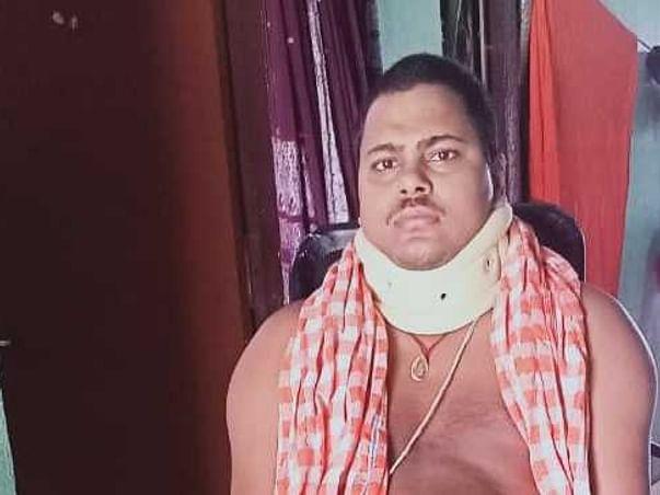 24 Years Old Raj Kumar Jena Needs Your Help Fight Quadriplegia