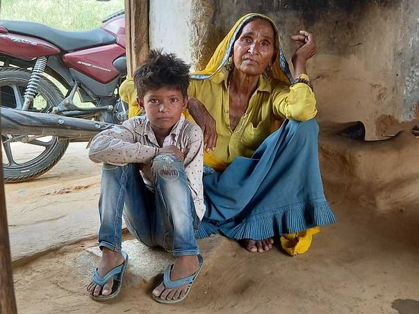 Support Harbai in Raising 2 grand kids
