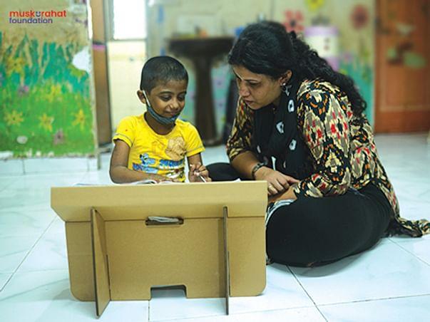Help Muskurahat provide 10,000 study desks to children-in-need