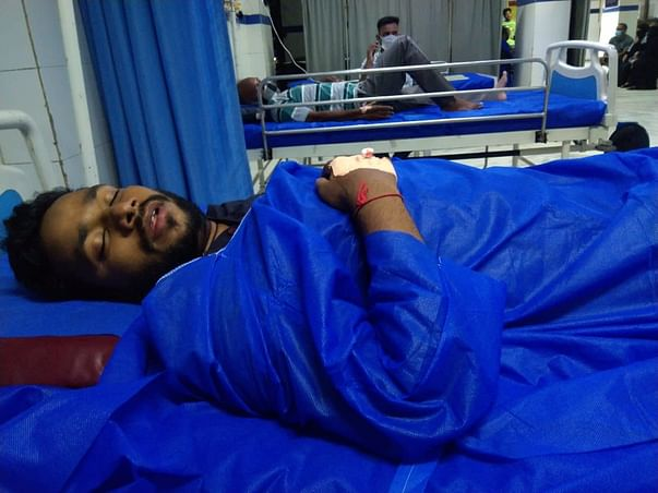 Support Sayed Amir Recover From Brain Stroke And Lung Infection