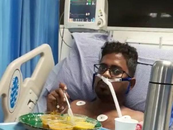 Help Aduri Sai Kumar To Fight With Covid