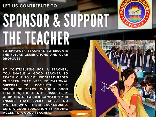 Sponsor and Support The Teacher