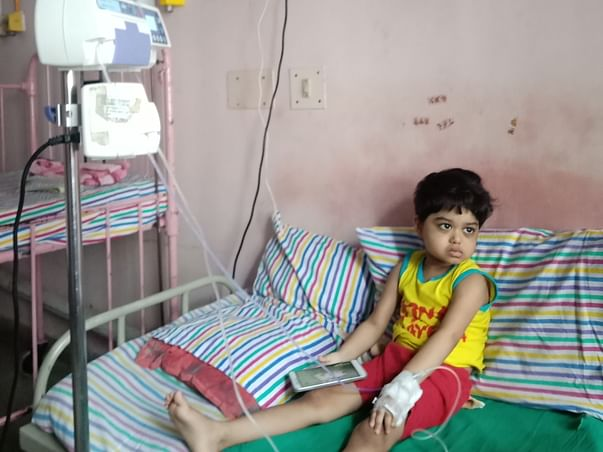 Support Sweta Smita Rout To Recover From Neuroblastoma cancer 4thStage