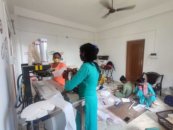 Help Raise Funds for a Sanitary Napkin Packaging Machine
