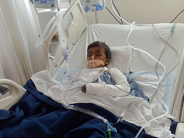 Support 9 Yrs/O Annu Kumari Recover Serious Road Accident Injuries