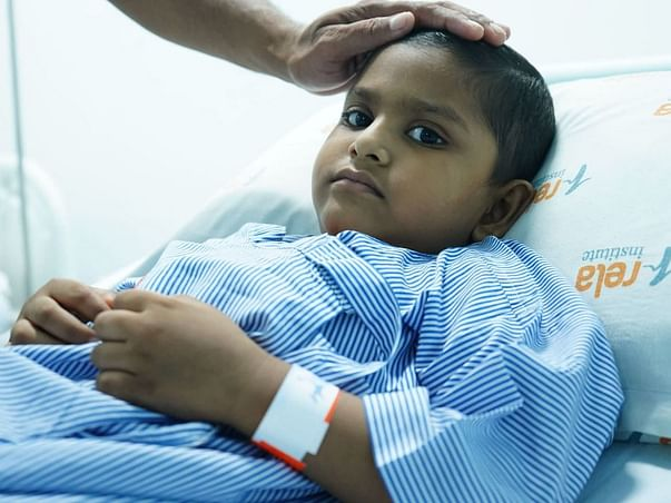 Without Surgery, A Cancerous Tumour Can Spread To This Child's Brain