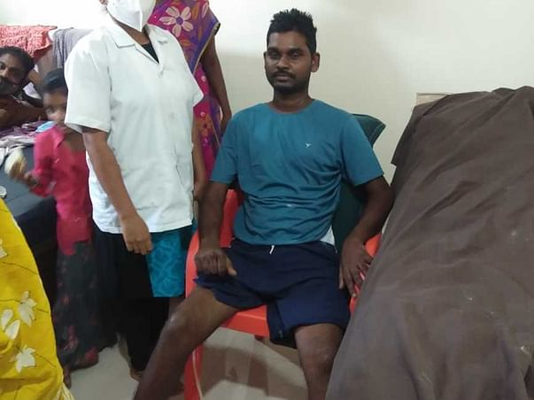 Support Salman Raju To Recover From Accidental Injuries