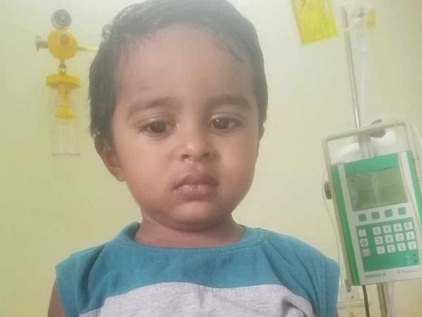 2 Years Old Shareendev Needs Your Help Recover From Leukemia