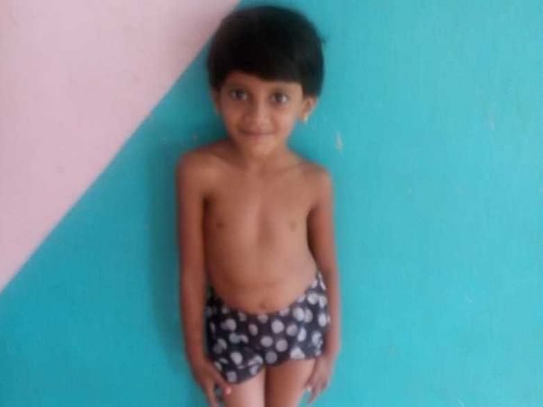 Help Amritha To Recover From Scoliosis