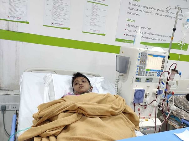 Support Sayani Praharaj Recover From Chronic Kidney Disease